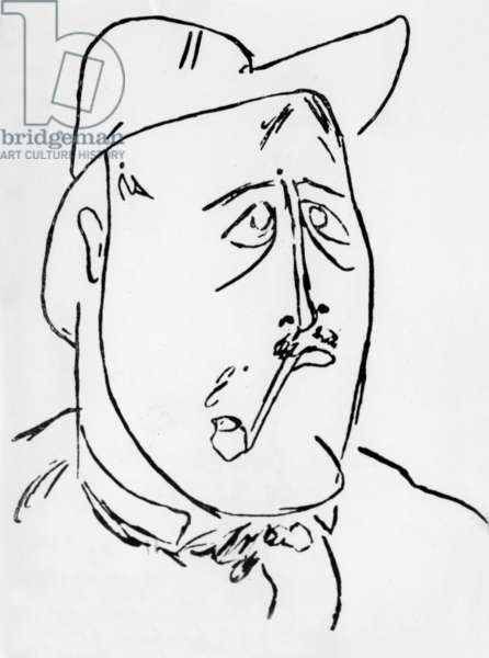 Guillaume Apollinaire, 1903 (litho)