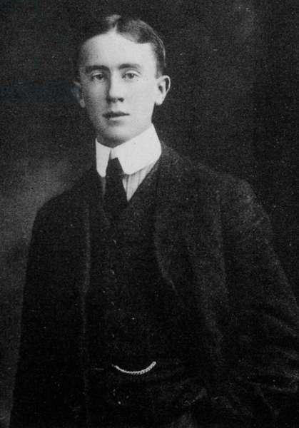 J.R.R. Tolkien, 1911 (b/w photo)