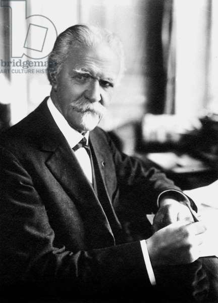 Vincent d'Indy (1851-1931) French composer c. 1920