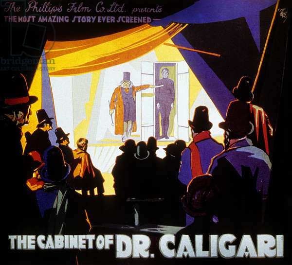 Le cabinet du Docteur Caligari CABINET OF DR. CALIGARI (aka DAS KABINETT DES DOKTOR CALIGARI) de RobertWiene avec Conrad Veidt, Lil Dagover, 1920