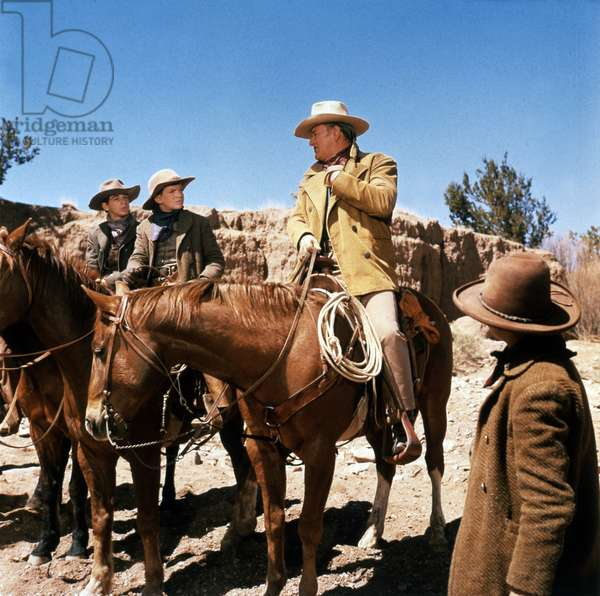 Cowboys de MarkRydell avec John Wayne 1972
