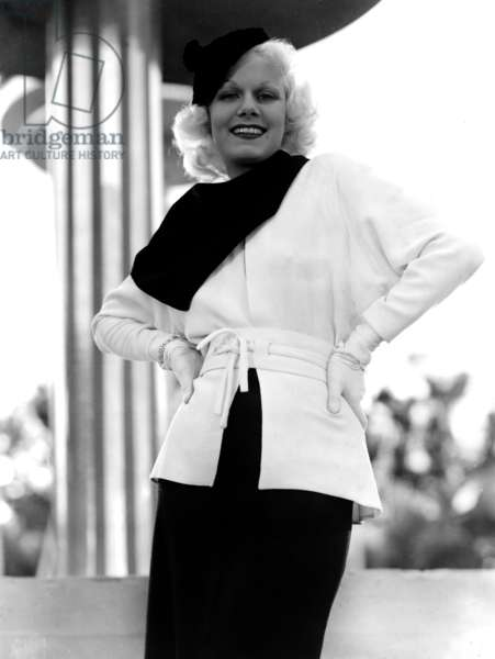 American Actress Jean Harlow (1911-1937) 1935