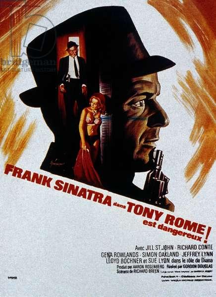 Tony Rome est dangereux Tony Rome de Gordon Douglas avec Frank Sinatra 1967