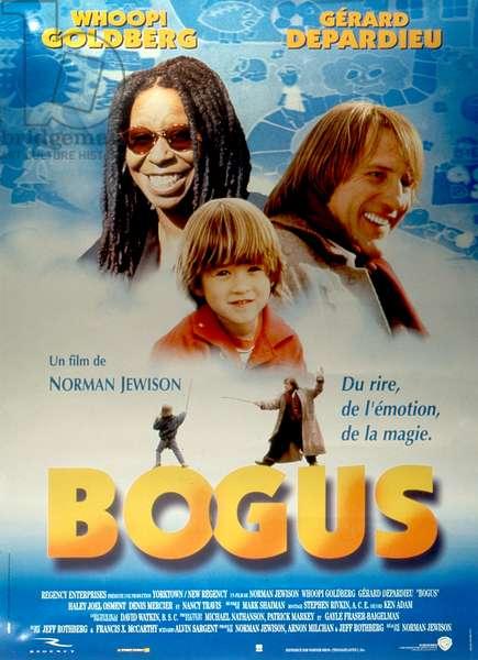 Affiche du film Bogus de NormanJewison avec Whoopi Goldberg Gerard Depardieu et Haley Joel Osment 1996