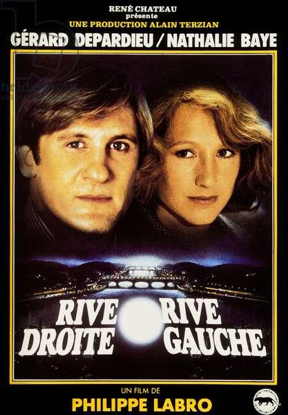 Rive droite rive gauche de PhilippeLabro avec Gerard Depardieu et Nathalie Baye 1984