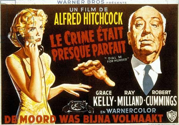 Le Crime etait presque parfait DIAL M FOR MURDER de Alfred Hitchcock avec Grace Kelly et Ray Milland 1954