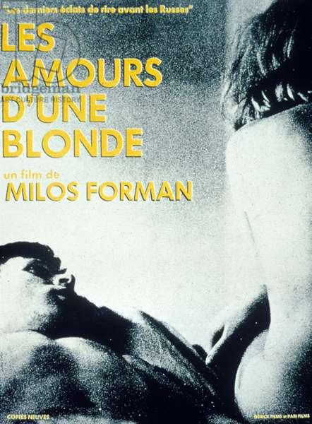 Affiche du film Les amours d'une blonde de MilosForman 1965