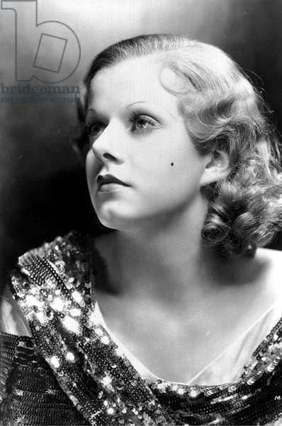 American Actress Jean Harlow (1911-1937) c. 1931