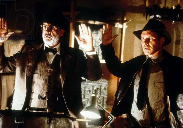 Indiana Jones et la derniere croisade IndianA JONES AND THE LAST CRUSADE de StevenSpielberg avec Sean Connery et Harrison Ford 1989