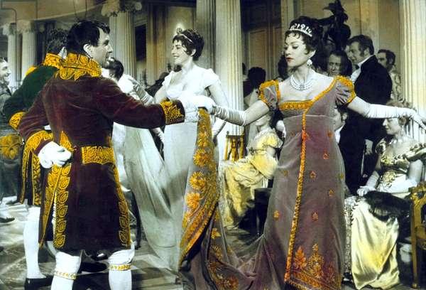 Austerlitz (The Battle of Austerlitz) d'Abel Gance avec Pierre Mondy (Napoleon) et Martine Carol (l'imperatrice Josephine) 1960