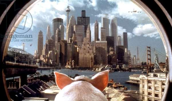Babe un cochon dans la ville Pig in the city de GeorgeMiller 1998