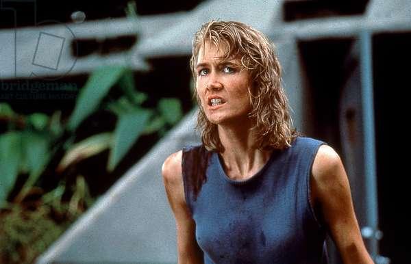Jurassic Park de StevenSpielberg avec Laura Dern 1993 (d'apres MichaelCrichton)