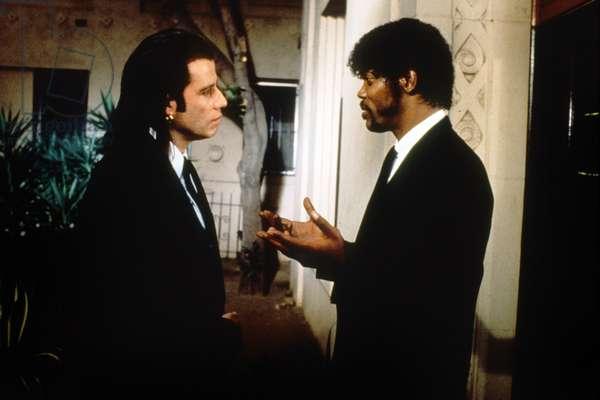 Pulp Fiction de QuentinTarantino avec Samuel L. Jackson et John Travolta 1994 (Palmed'or1994)