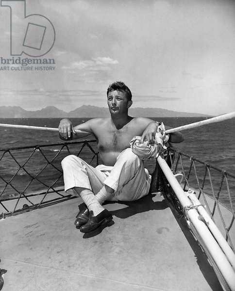 American Actor Robert Mitchum (1917-1997) c. 1950