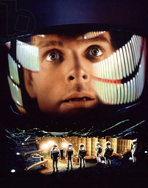 2001 l'Odyssee de l'Espace 2001 A Space Odyssey de StanleyKubrick avec Keir Dullea, 1968