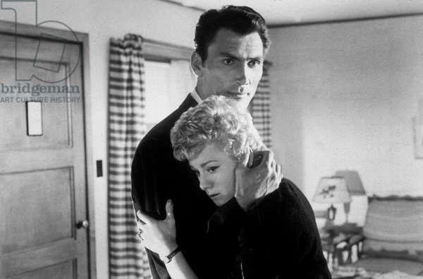 Je suis mort mille fois par Stuart Heisler avec Jack Palance et Shelley Winters, 1955.