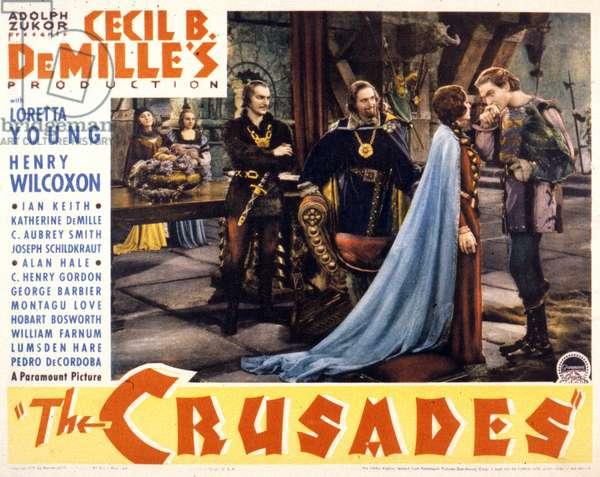 Les croisades THE CRUSADES de Cecil B DeMille avec Loretta Young et Henry Wilcoxon 1935