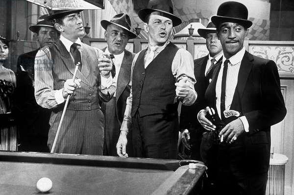 Ocean's eleven (l'inconnu de Las vegs) de LewisMilestone avec Dean Martin, Frank Sinatra, Sammy Davis Jr 1960