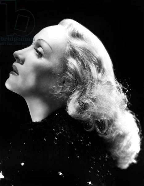 German Actress Marlene Dietrich (1901-1992) c. 1937