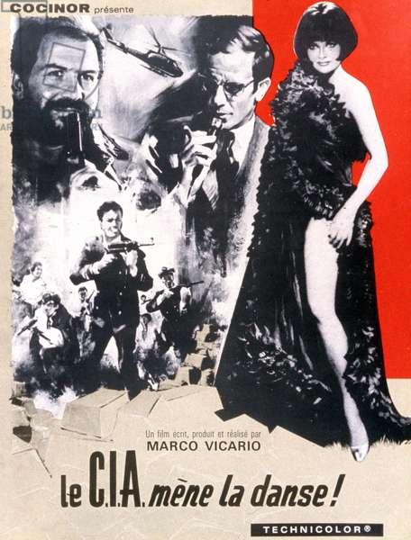 Affiche du film La CIA mene la danse (IL Grande colpo dei sette uomini d'oro) de MarcoVicario 1967