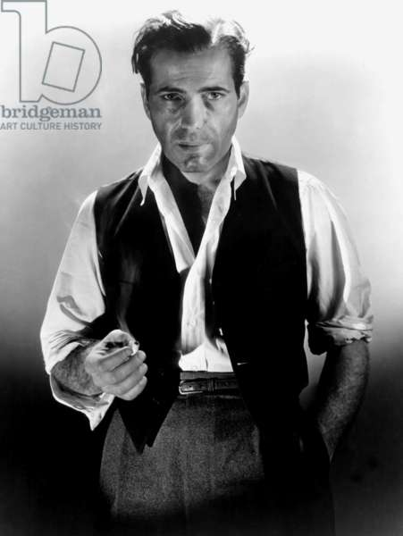 American Actor Humphrey Bogart (1899-1957) c. 1935