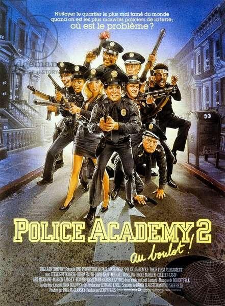 Police Academy 2 : Au boulot! Police Academy 2: Their First Assignment de Jerry Paris avec Steve Guttenberg et Bubba Smith 1985
