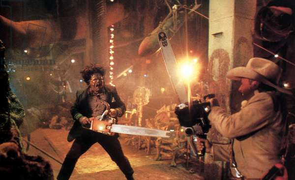 Massacre a la tronconneuse 2 THE TEXAS CHAINSAW MASSACRE II de Tobe Hooper avec Bill Johnson, 1986