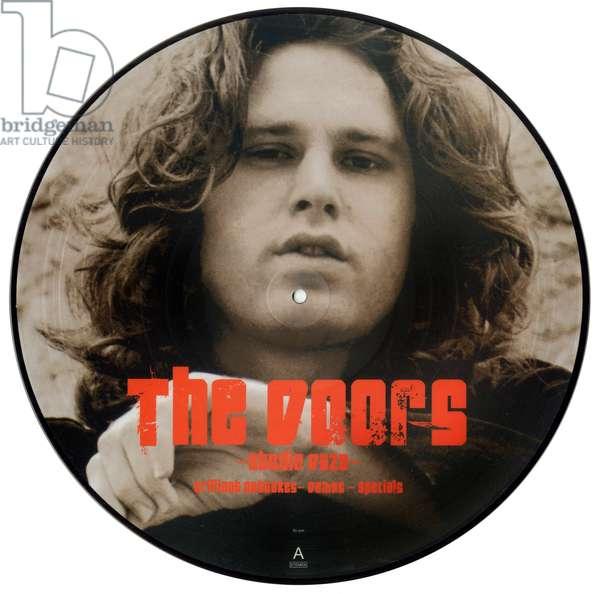 "Vinyl record 33 rounds from The Doors album ""Studio Daze Brilliant outtakes demos specials"" c.1967: Jim Morrison"