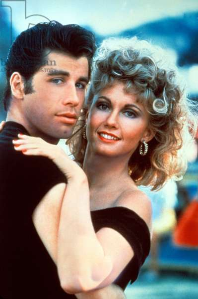 Grease de Randal Kleiser avec John Travolta, Olivia Newton-John 1978