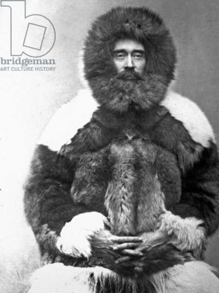 Admiral Robert Edwin Peary (1856-1920) American explorer of Arctic (north pole)