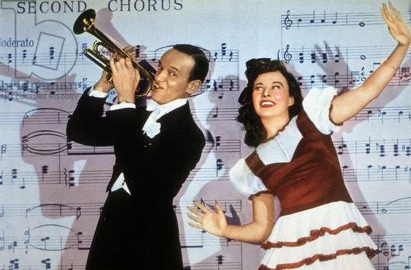 Potter avec Fred Astaire et Paulette Goddard 1940