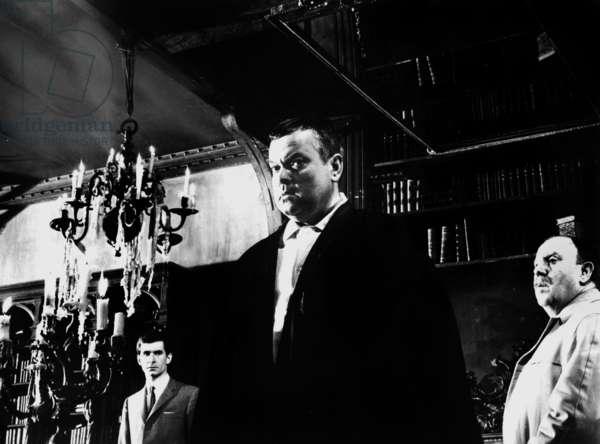 Le proces THE TRIAL d' OrsonWelles avec Anthony Perkins, Orson Welles, 1963
