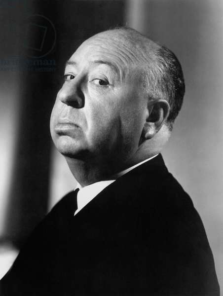 Director Alfred Hitchcock (1899-1980) in 1960