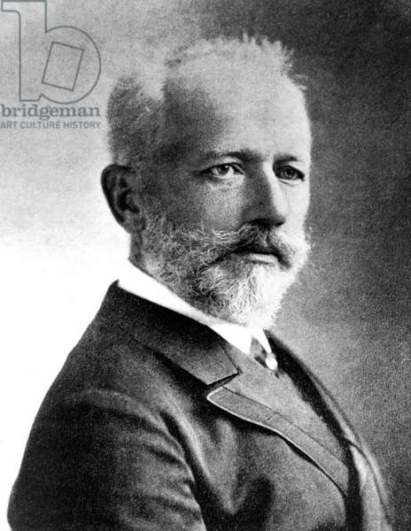 Piotr Illich Tchaikovsky (1840-1893) russian composer c. 1888