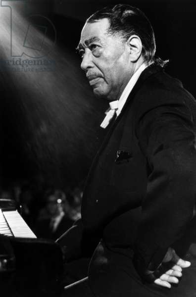 Duke Ellington at the Jazz Festival of Montreux, Swiss, jully 1970