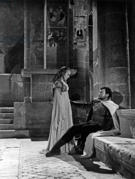 OTHELLO (aka THE TRAGEDY OF OTHELLO: THE MOOR OF VENICE) de OrsonWelles avec Orson Welles et Suzanne Cloutier, 1952, tourne a Essaouira au Maroc, Palmed'or1952