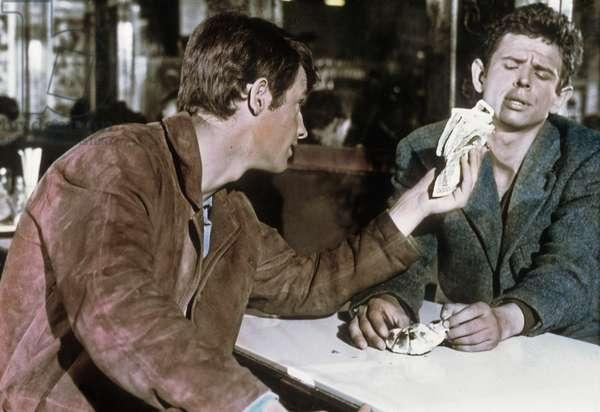 A double tour de Claude Chabrol avec Jean-Paul Belmondo, Laszlo Szabo, 1959