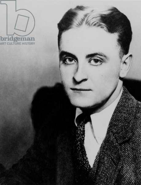 Francis Scott Fitzgerald (1896-1940) American writer here c. 1935
