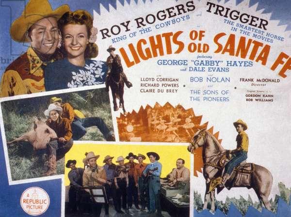 Lights of Old Santa Fe de FrankMcDonald avec Roy Rogers et Dale Evans 1944
