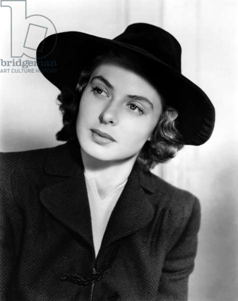 Actress Ingrid Bergman in March 1941