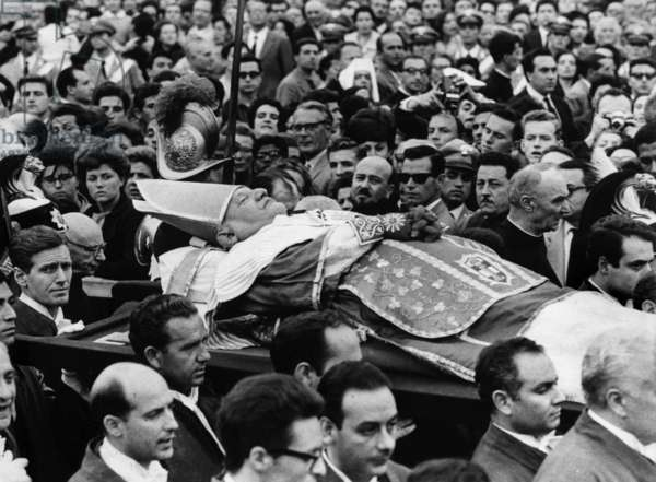Funerals of pope John XXIII Ange Joseph Roncalli, pope from 1958 to 1963