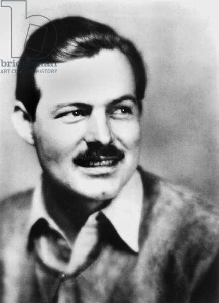 Ernest Hemingway (1899-1961) American writer c. 1930