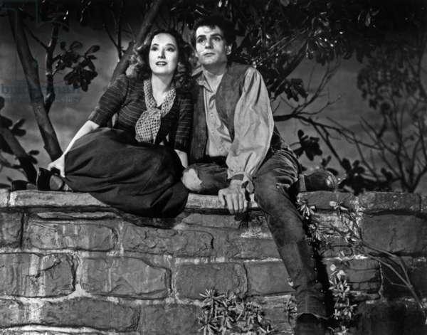 Les Hauts de Hurlevent Wuthering heights de WilliamWyler avec Laurence Olivier et Merle Oberon 1939 (d'apres Emily Bronte)