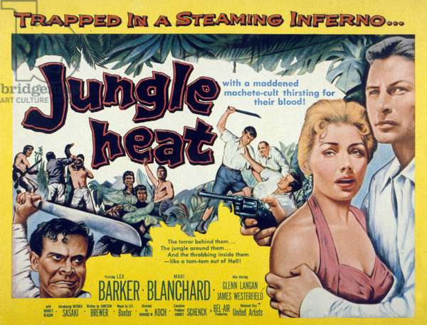 La jungle infernale (jungle heat) de HowardW.Koch avec Mari Blanchard 1957