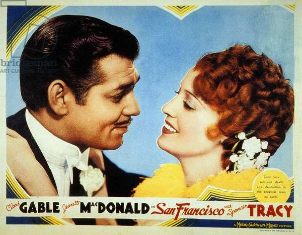 San Francisco de W S Van Dyke with Clark Gable and Jeannette MacDonald 1936