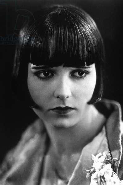 American Actress Louise Brooks (1906-1985) c. 1927