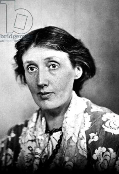 Virginia Woolf (1882-1941) English novelist c. 1935