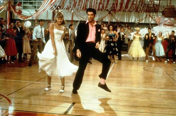 Grease de Randal Kleiser avec Olivia Newton-John et John Travolta, 1978