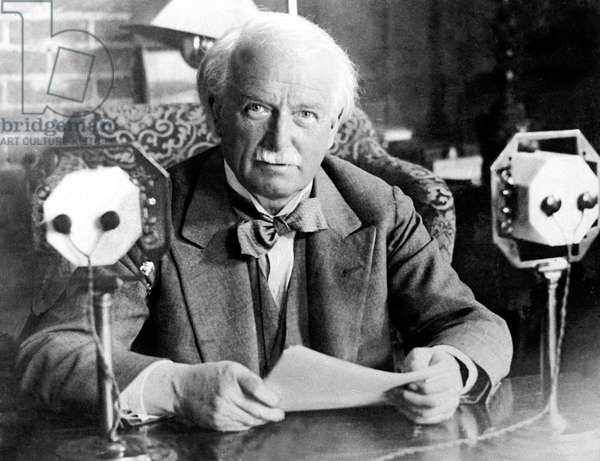 speech of British Prime Minister David Lloyd George in 1931 (1863-1945)