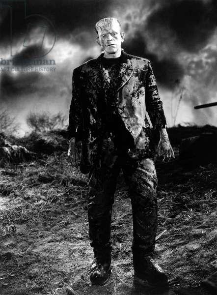 Frankenstein de James Whale avec Boris Karloff 1931